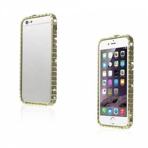 Unbranded Diamond (guld) iphone 6 metall bumper