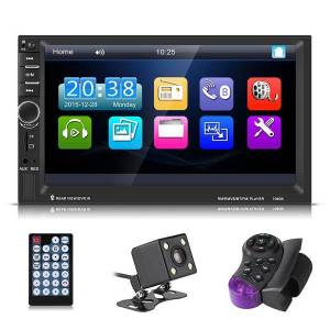 Unbranded 7inch hd touch screen bluetooth car mp5 player fm radio aux