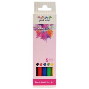 FunCakes Livsmedelspennor 5-pack primärfärger - FunColors
