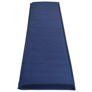 vidaXL Luftmadrass 66x200 cm blå