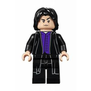 Unbranded Lego figurer harry potter snape 2019 black purple lf30-15
