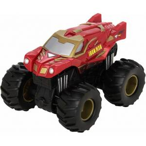Hot Wheels monster jam rev tredz iron man friktion leksaksbil 12