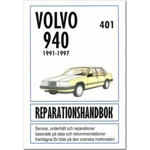 No name Volvo 940 1991-1997 Svensk Reparationshandbok