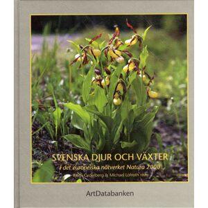 No name Svenska Djur Och Växter I Det Europeiska Nätverket 9789188506221