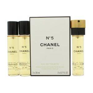 Chanel N°5 Giftset 3 x 20ml EDT Refills