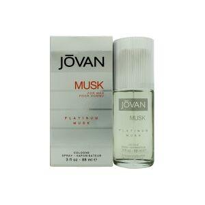 Jovan Musk For Men Eau De Cologne 88ml Spray - Platinum Musk
