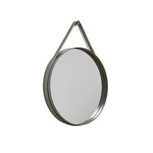 Hay Strap Mirror Ø50 cm, Grön