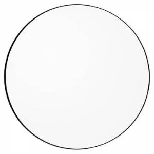 AYTM Circum Spegel Large Ø110 cm, Klar/Svart