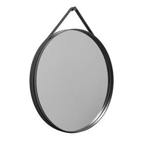 Hay Strap Mirror Ø70 cm, Anthracite