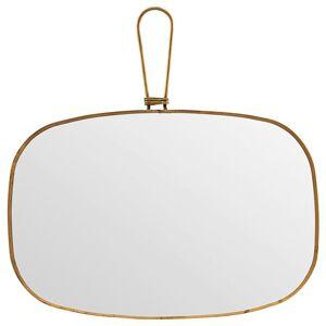 Meraki Spegel 30x20 cm, Antique brass