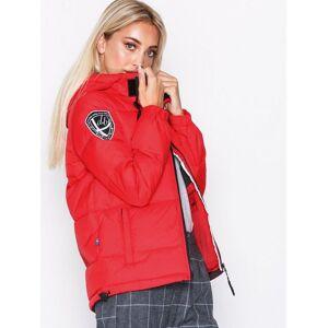 D Brand Eskimå Down Jacket Dunjackor Röd