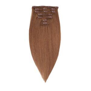 Rapunzel Of Sweden 50 cm Clip-On Set Original 7 pieces Hair Extensions Medium Ash Brown