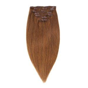 Rapunzel Of Sweden 30 cm Clip-on set Original 7 pieces Hair Extensions Brown