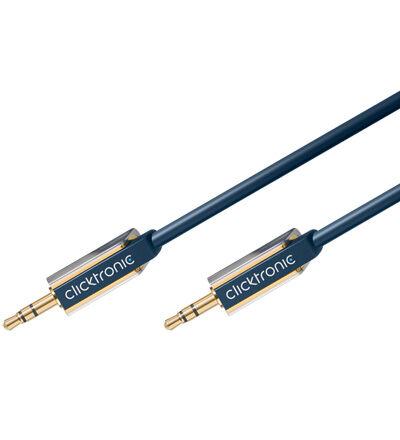 ClickTronic Advanced 5m 3,5mm Minijack ljudkabel