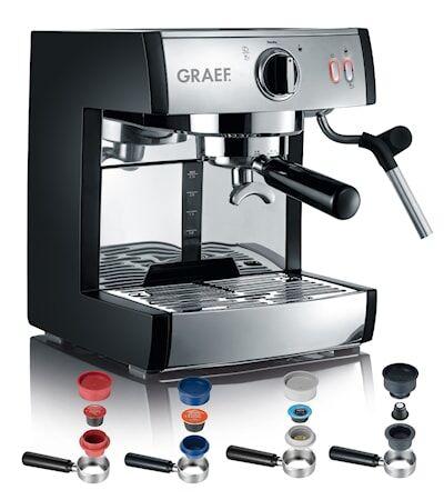 Graef Espressomaskin Pivalla Komplett