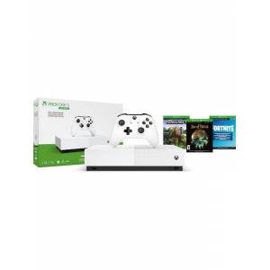 Microsoft Xbox One S All-Digital Edition - 1TB (Fortnite - Minecraft - Sea of Thieves Bundle)