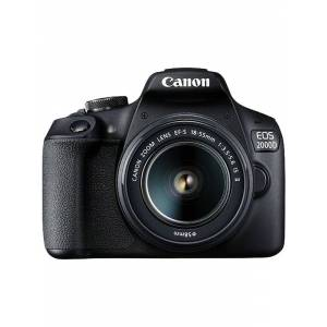 Canon EOS 2000D 18-55 IS II - Black