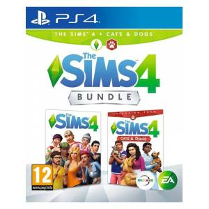 EA The Sims 4 plus Cats and Dogs bundle - Sony PlayStation 4 - Virtual Life
