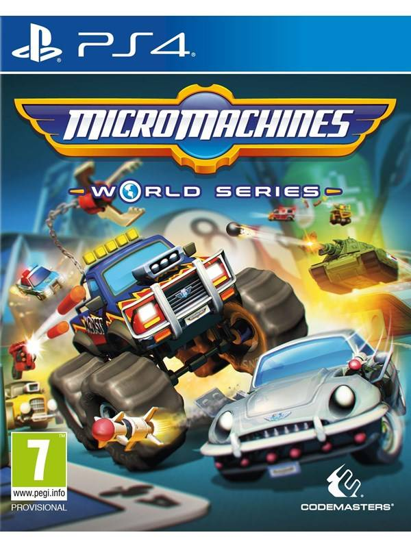 Codemasters Micro Machines World Series - Sony PlayStation 4 - Racing