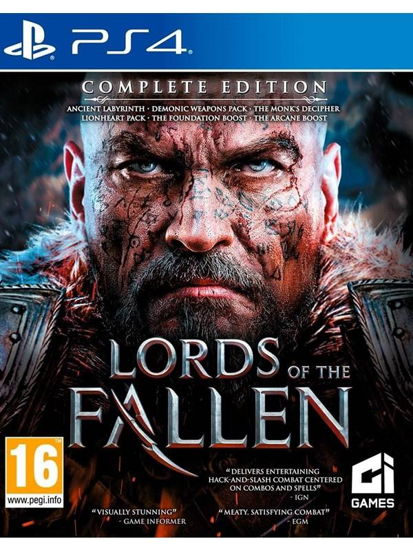 THQ Lords of the Fallen - Complete Edition - Sony PlayStation 4 - RPG
