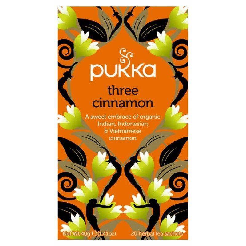 Pukka Three Cinnamon Tea - Organic