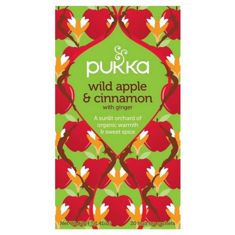 Pukka Wild Apple & Cinnamon Tea - Organic
