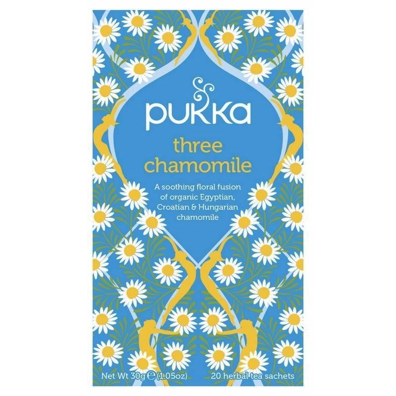 Pukka Three Chamomile Tea - Organic