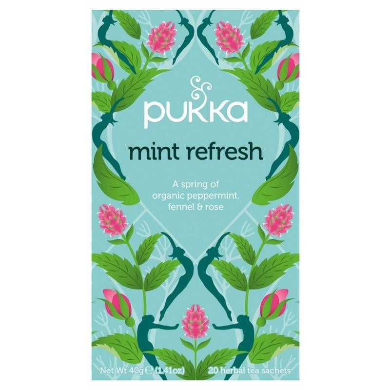 Pukka Mint Refresh Tea - Organic