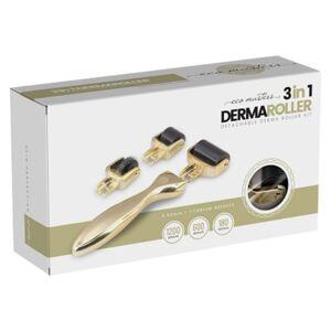 Eco masters Dermaroller - Skinroller för microneedling hemma - Reducerar ärr, bristningar & celluliter - Motverkar rynkor i ansiktet