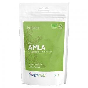 WeightWorld Bio Amla Powder -Organiskt framställt pulvertillskott för immunförsvaret och hjärtat - 200g