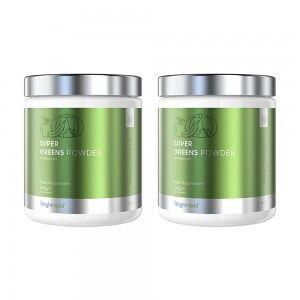 WeightWorld Veganskt proteinpulver - Super Greens Powder 240g Pulver - 23 aktiva ingredienser - Växtbaserat protein - Smakfri & tillsatsfri - 2-pack spara 5%