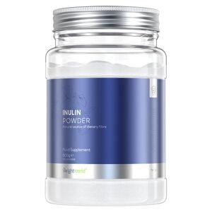 Inulin - 500g rent naturligt inulin - Naturlig prebiotika - Probiotika pulver med hög fiberhalt för matsmältningen - 100 portioner per förpackning