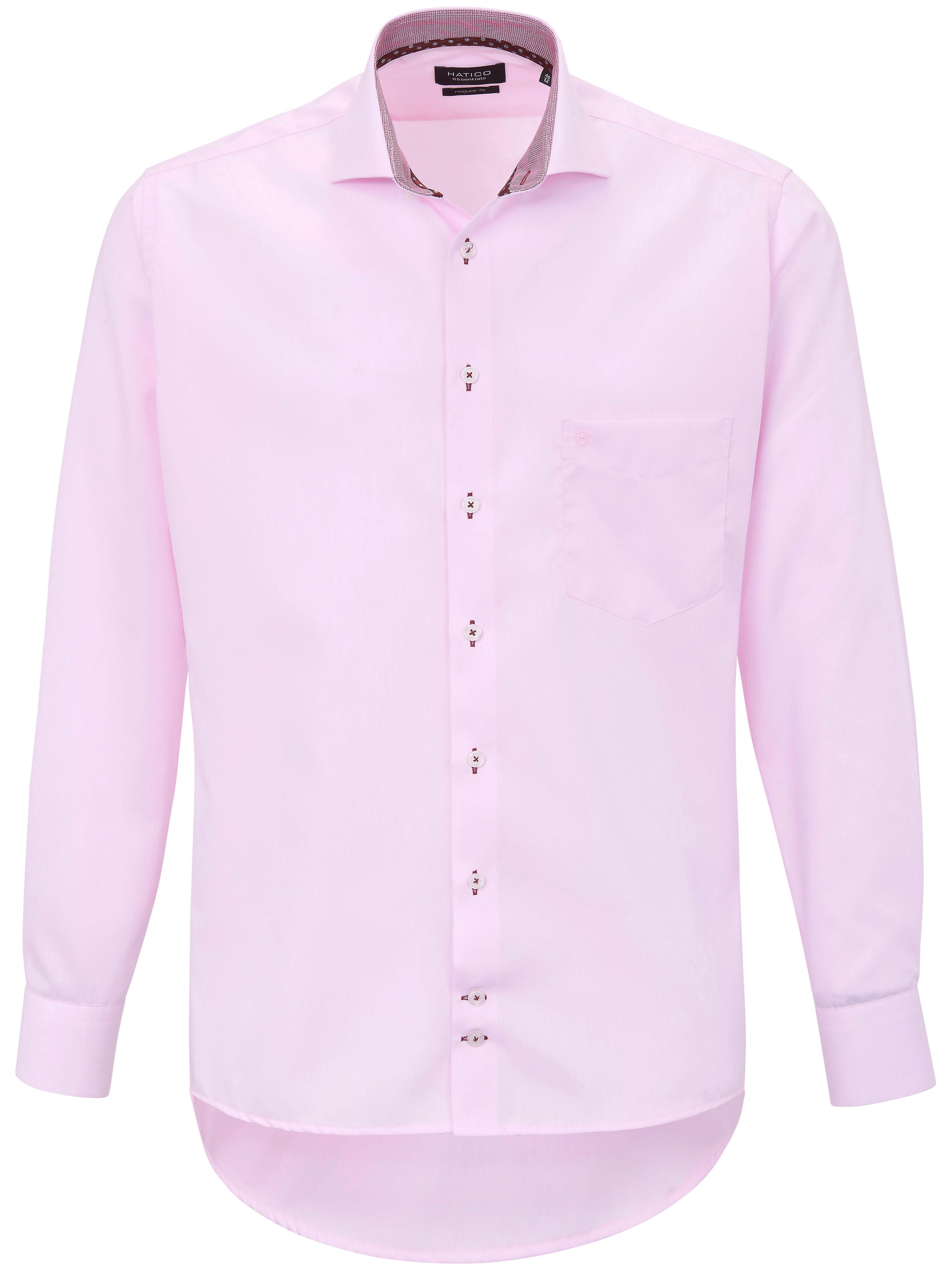 Hatico Skjorta hajfenskrage i 100% bomull från Hatico rosa