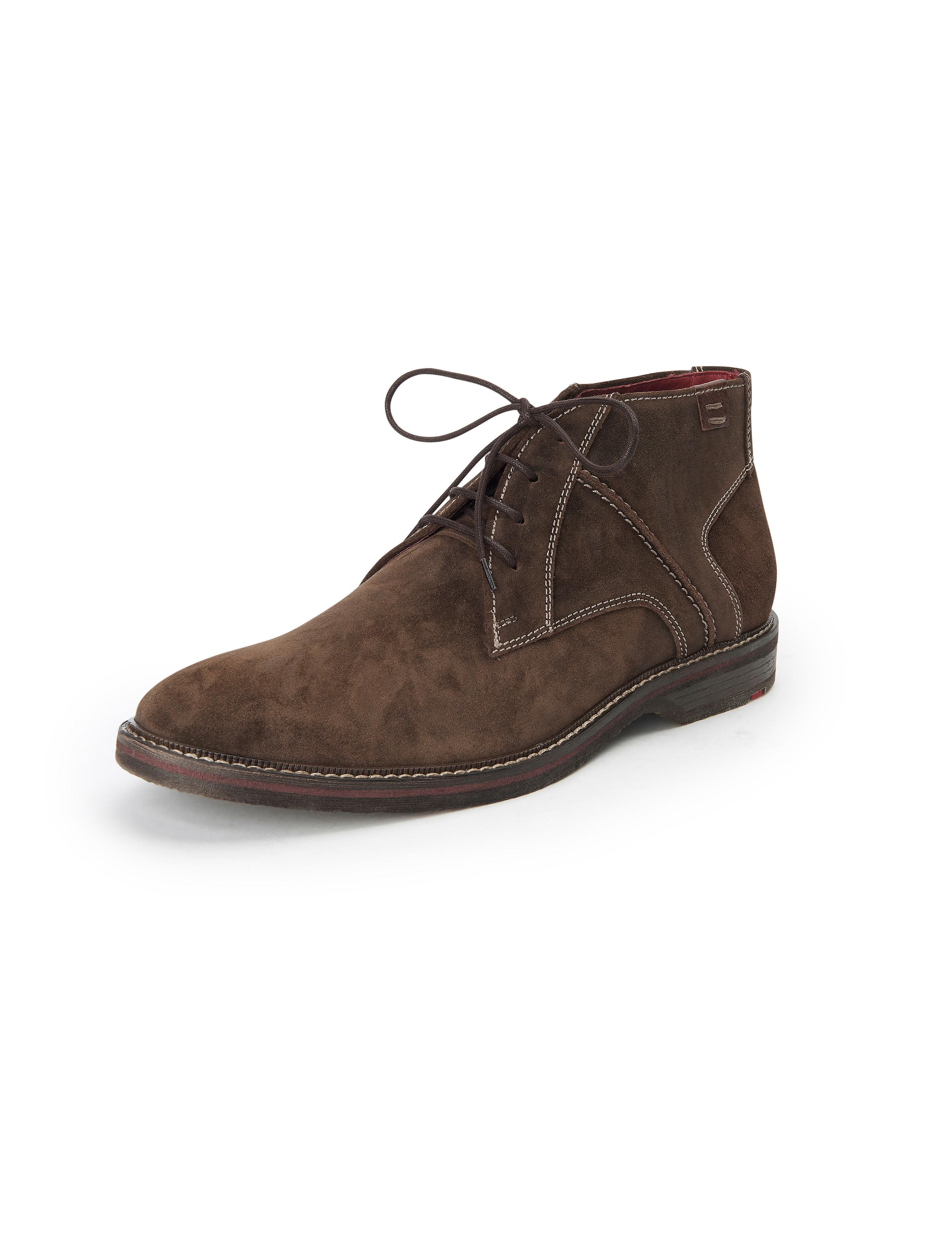 Lloyd Ankelhög snörsko Dalbert 100% läder från Lloyd brun