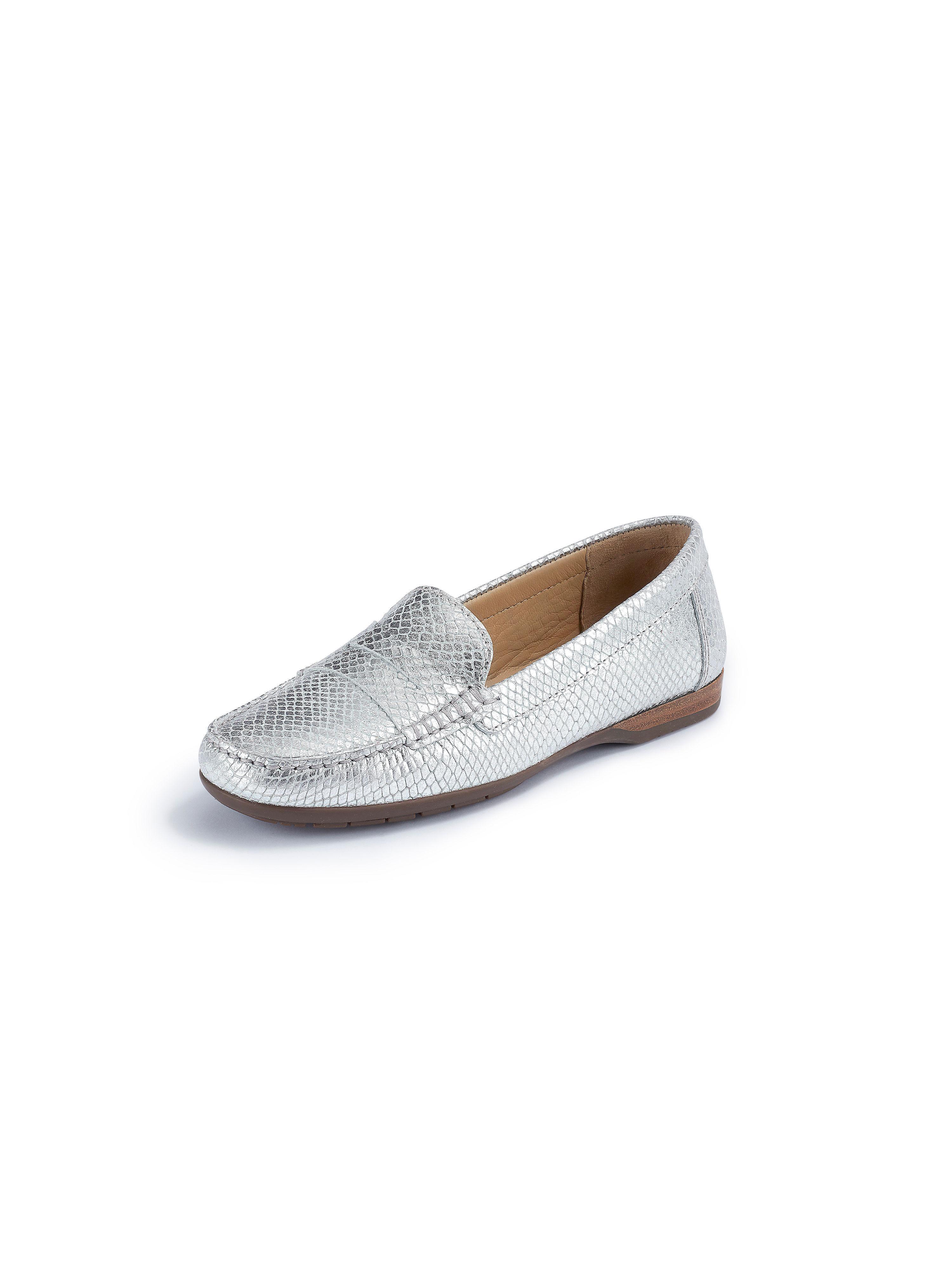 Wirth Loafers i äkta läder från Wirth silver