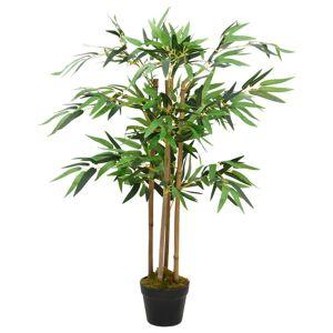 vidaXL Konstgjord Bambuväxt Twiggy med Kruka 90 cm