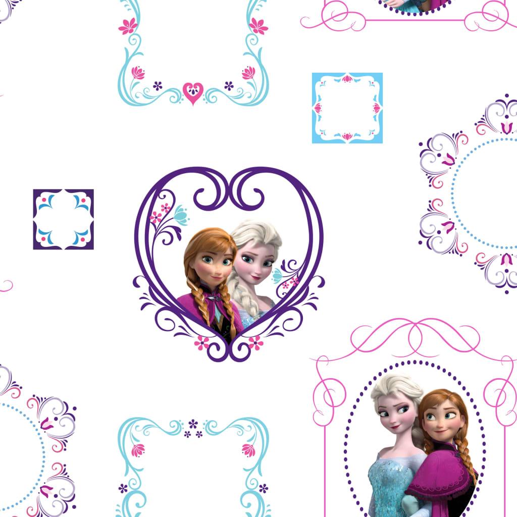 new styles d58ba 751b5 Handla Kids at Home Tapet Frozen Frames vit 70-539   vidaXL.se