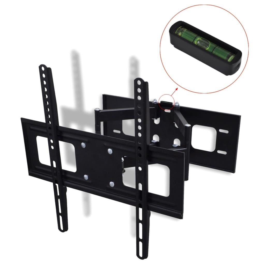 vidaXL Dubbelarmat vrid/lutbart TV-väggfäste 3D 400 x 400 mm 32
