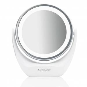 Medisana 2-i-1 Sminkspegel CM 835 12 cm vit 88554