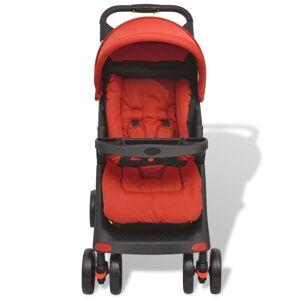 vidaXL Sittvagn röd 102x52x100 cm