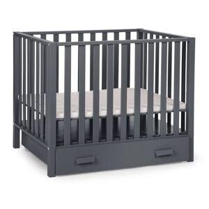 CHILDWOOD Låda till lekhage 88x74x15,5 cm antracit DRPA94AN