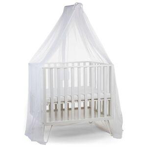 CHILDHOME Sänghimmelsstativ med myggnät vit