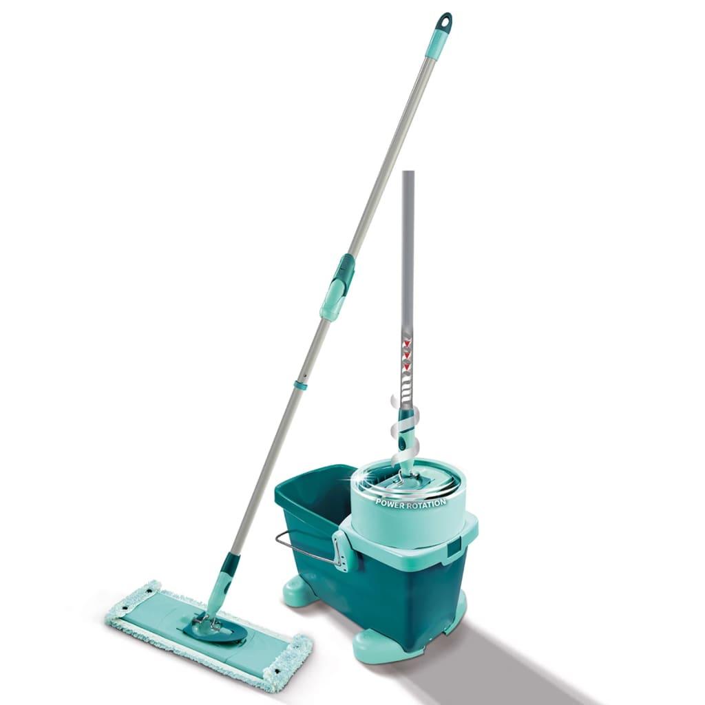 Leifheit Golvmoppset Clean Twist M grön 52050