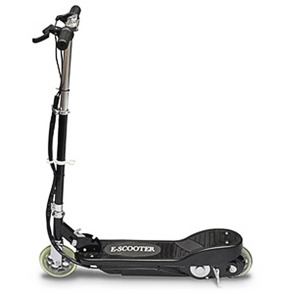 vidaXL Elektrisk sparkcykel 120 W svart