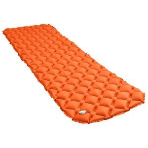 vidaXL Luftmadrass 58x190 cm orange