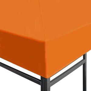 vidaXL Paviljongtak 310 g/m² 3x3 m orange