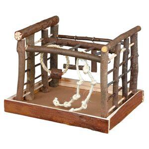 TRIXIE Fågellekställning Natural Living 35x29x25 cm trä 5661