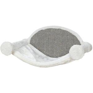TRIXIE Katthängmatta 54x28x33 cm gräddvit och grå 49920