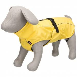 TRIXIE Regnjacka för hund Vimy S 35 cm gul