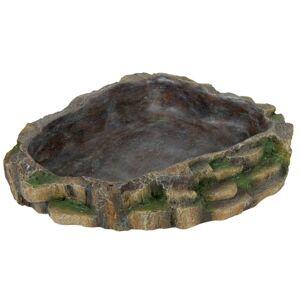 TRIXIE Reptil mat- eller vattenskål 24x20 cm polyesterharts 76205